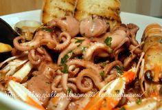 Zuppetta di moscardini, Ricetta primo di mare | Le Mani Di Manu