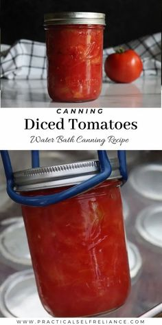 Canning Tomatoes Water Bath, Canning Crushed Tomatoes, Stewed Tomatoes, Stewed Tomato Recipes, Canned Tomato Sauce, Pressure Canning Recipes, Canning Tips, Easy Summer Meals, Summer Recipes