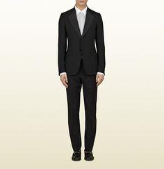 Gucci two-button black heritage tuxedo