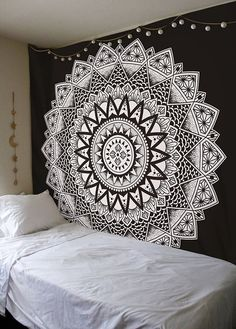 Polyester Indian Mandala Tapestry Wall Hanging Bohemian Hippie Home Decor Blanket Beach Yoga Large Mandala Wall Tapestry Art Bohemian Wall Tapestry, Tapestry Beach, Tapestry Bedroom, Indian Tapestry, Mandala Tapestry, Tapestry Wall Hanging, Mandala Throw, Sun Mandala, Bedroom Art