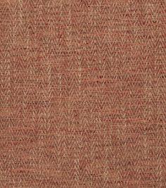 Eaton Square Upholstery Fabric-Gordon/Poppy