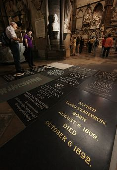 Poet's Corner, Westminster Abbey, London