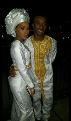 Traditional African Clothing, African Traditional Wedding, African Clothing For Men, African Print Fashion, Africa Fashion, Tribal Fashion, Couples African Outfits, Couple Outfits, African Lace Dresses