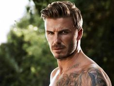 Like a fine wine, David Beckham just keeps getting better with age and so does his hair. Keepin' it dapper David.
