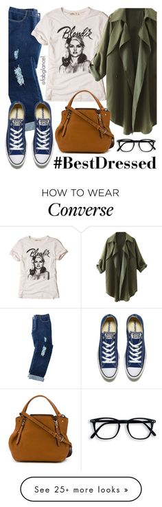 """The #BestDressed Series: Upgraded Errands"" by fabglance on Polyvore featuring Avon, Hollister Co., Burberry and Converse"