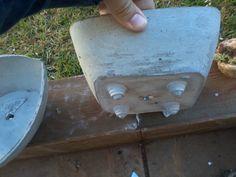 Molde Para Vaso de Cimento com pés