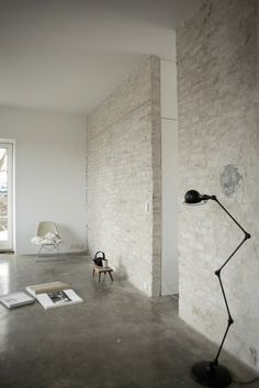 Norm.Architects . humlebæk house - Wall and floor, every flat could be turned into this ;)