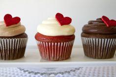 58 ideas diy wedding cupcakes ideas valentines day for 2019 Valentine Day Cupcakes, Heart Cupcakes, Pretty Cupcakes, Valentine Treats, Simple Cupcakes, Elegant Cupcakes, Valentines Sweets, Sweet Cupcakes, Pink Cupcakes