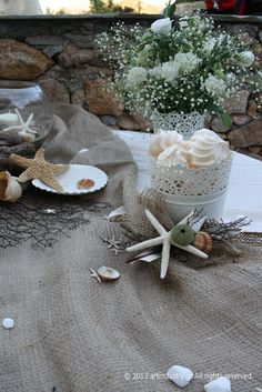 #wedding #starfish Wedding Decorations, Table Decorations, Sweet Memories, Starfish, Sea Shells, Wedding Day, Pi Day Wedding, Seashells, Marriage Anniversary