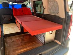 Minivan Camper Conversion, Car Camper, Mini Camper, Van Conversion For Family, Berlingo Camper, Rental Vans, Custom Mercedes, Minivan Camping, Van Accessories
