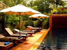 Time for relaxing at the Siddharta Boutique Hotel in Siem Reap Cambodia #siemreap #hotels