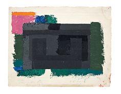 Josef Albers. 'Study for a Adobe' ca. 1947