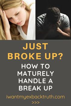 How to get her back after a bad break up