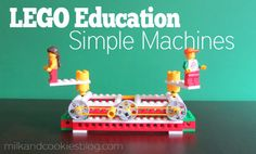 Creating Simple Machines With LEGO® Education from milkandcookiesblog.com. If we have any of these blocks, then this would be a fun.