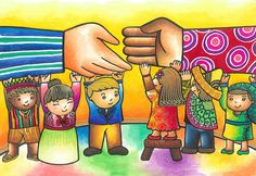 """""""Bringing hands together, Bridging gaps forever"""" by Jamia Mei Tolentino. A winner of 'Embracing Our Differnances'"""