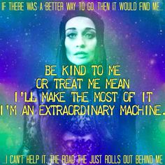 Another #FionaApple #affirmation from #ExtraordinaryMachine #affirmations #lyrics #quote #quotes #positivelife #positivity #goodvibes #imanextraordinarymachine #iam #healing #radicalhealing #recovery #radicalrecovery #musictherapy #songtherapy #selfhelp #lifecoach #dbt #cbt #radicalpositivity #radicalleadership #lawofattraction #fionaisbae