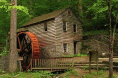 Beautiful Old Gristmill
