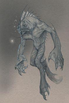 creatureBlackLagoon by StilleNacht.deviantart.com on @deviantART