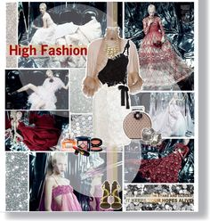 """""""High fashion"""" by hieuanh ❤ liked on Polyvore"""