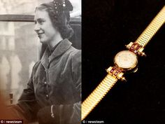 The Cartier timepiece in question was purchased for Princess Margaret by the Queen Mother, wife of King George VI.   The art deco style watch was purchased for the Princess by her mother on the occasion of her 20th birthday in 1940.
