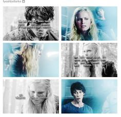 #The100 #CW #Bellarke I ship it. I really do.  PLEASE WRITE THESE TWO TOGETHER FOR SEASON 2! Unless you actually did kill him off. If so, shame on you!