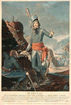 Portrait du général Marceau. Antoine SERGENT