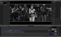 Free template FCP X : Black and White effect - Old film