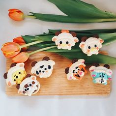 honeyandbutter When @yerenaa told us about the Year of The #Sheep #tsums we could hardly wait. Even when #CNY is more than a month away here are #Tsumtsum in sheep costumes!!  #macarons #honeyandbutter #disney #mickey #dalethechipmunk #poohbear #tigger #eryore #daisyduck #donaldduck