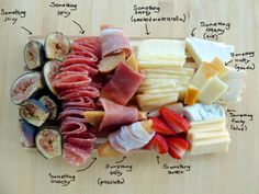 Helpful! What you need to build a cheese/sausage plate 636 x 477 - Imgur