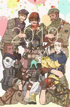 Favorite tweet by @Eureka1812 Rainbow Six Siege Art, Rainbow 6 Seige, Tom Clancy's Rainbow Six, Rambo 6, Videogames, Deadpool, Rainbows, Pitbull, Anime Style