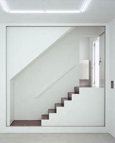 Stairs as art at J House, Tokyo by Aoki Jun
