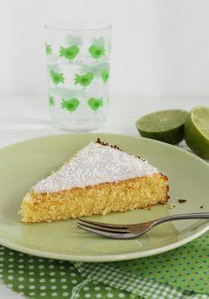 Tinkas Welt: Schön erfrischend: Limetten-Kokos-Kuchen