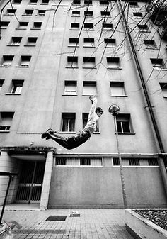 Parkour. I love doing it.