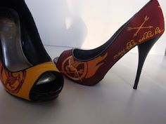 Love the books, and I love shoes, this could be the best thing ever