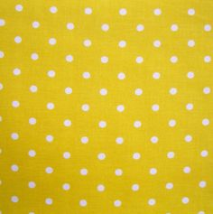 Quilter's Showcase Fabric- White Dot On Yellow at Joann.com
