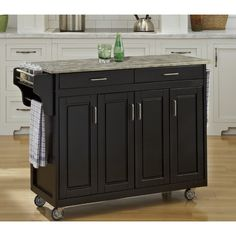 FREE SHIPPING! Shop Wayfair for Home Styles Create-a-Cart Kitchen Island with Concrete Top - Great Deals on all Furniture products with the best selection to choose from!