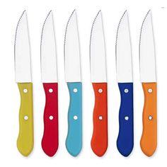 Rainbow Jumbo Steak Knife (Set of 6)