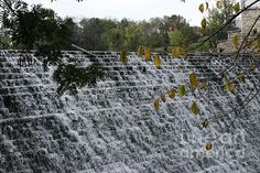 Spillway at Beeds Lake