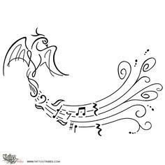 Fenix e partitura