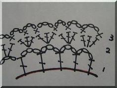Andante ゆっくり手作り:かぎ編みのシュシュ 編み図描いてみました