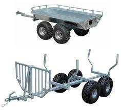 Mönkijän kärryt | ATV carts - Korkealaatuiset tuotteet löytyvät verkkokaupastamme. Virtasenkauppa - Verkkokauppa - Online store.