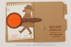 Wishing you a Spy-tacular Birthday ~ Capture. Create. Inspire.