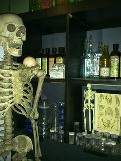 My mad scientist lab this halloween
