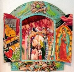 Image result for mexican shrines