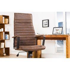 Une chaise de bureau très élégante fabriquée à partir de microfibre avec une composition 100% polyester, légère et solide, elle va vous présenter le confort ...