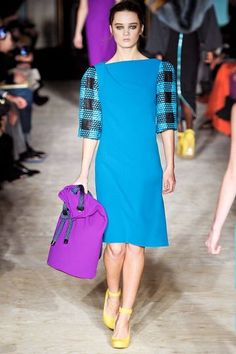 Roksanda Ilincic AW12, London Fashion Week