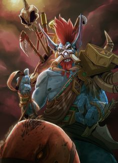 Vol'jin art by dement09 #worldofwarcraft #blizzard #Hearthstone #wow #Warcraft #BlizzardCS #gaming
