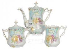 Three Piece Saxe Altenburg Tea Service