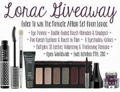 Beauty Test Dummies: Lorac Giveaway