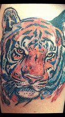 Oksana Weber | Colored tattoos
